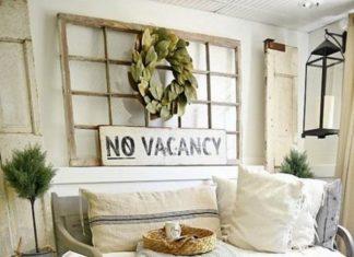 Adorable And Classic Vintage Farmhouse Decor Ideas