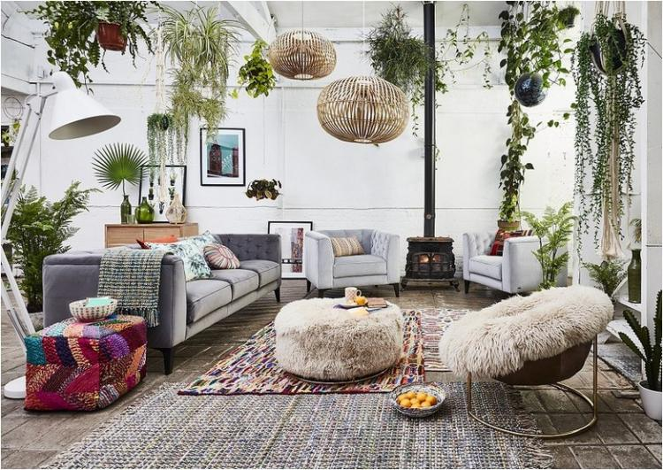 Delightful One Other Essential Top Quality Of Recent Bohemian Design Is Utilizing  Textiles. One Other Necessary Attribute Of Scandi Inside Design Is That The  ...
