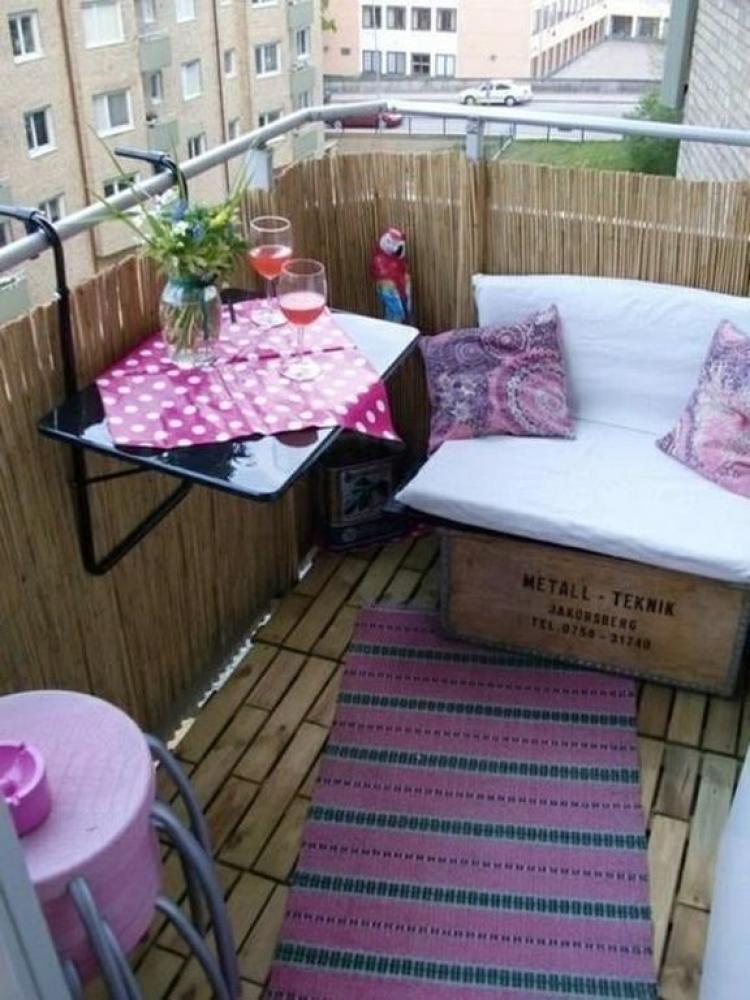 Small Balcony Design Ideas For Apartment