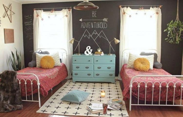 Beautiful Boho Bedroom Decor Ideas With Carpet