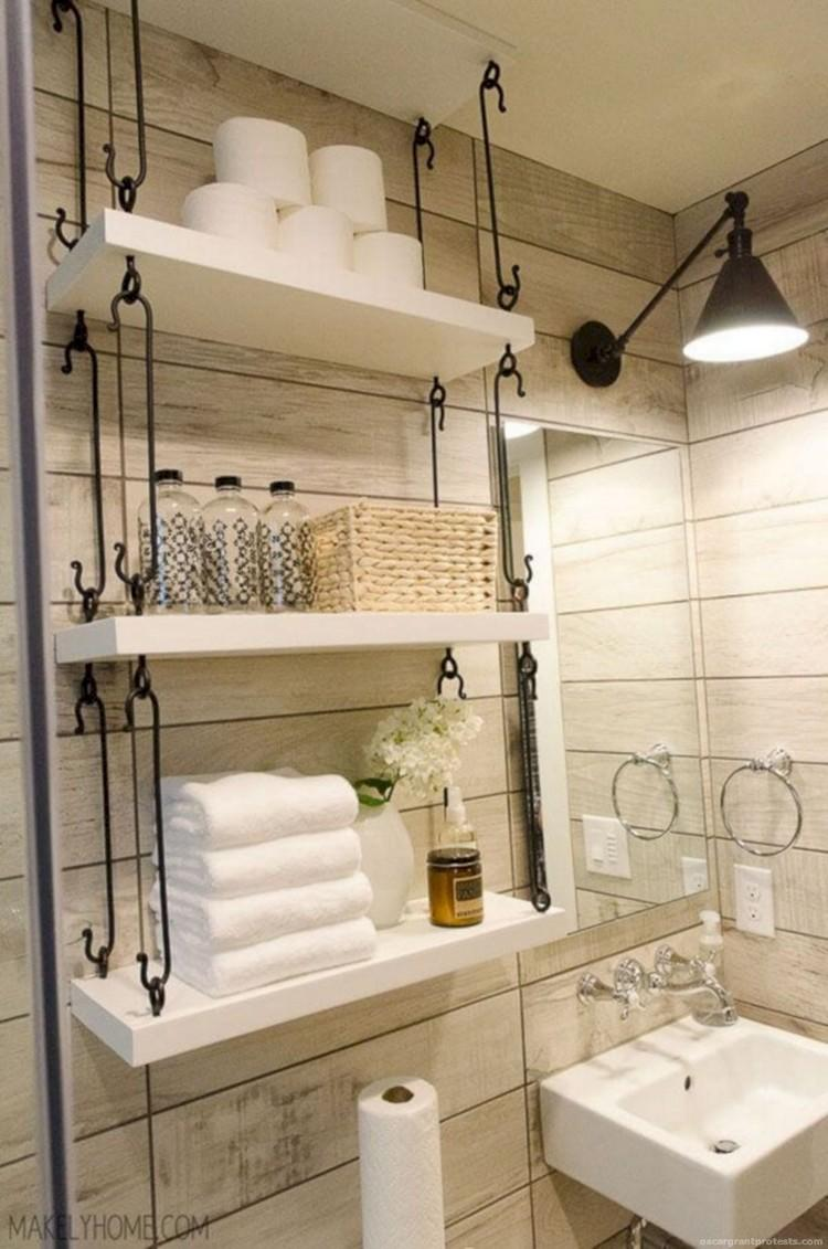 Cool organizing storage bathroom ideas for Cool bathroom themes