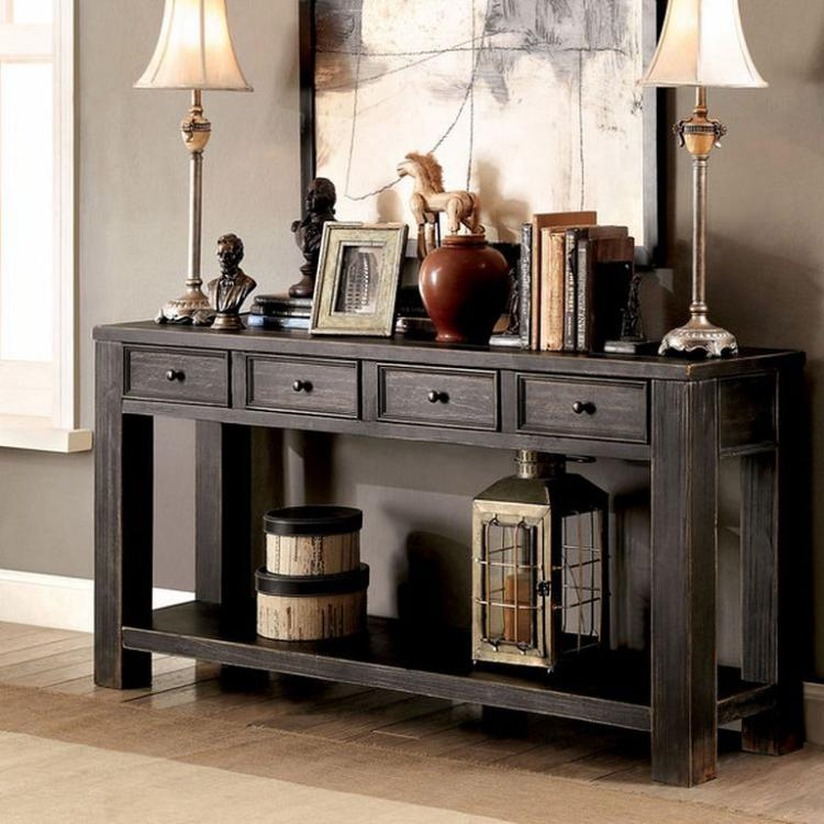 Sofa Table Pics: Cheap And Easy Sofa Table DIY For Anyroom