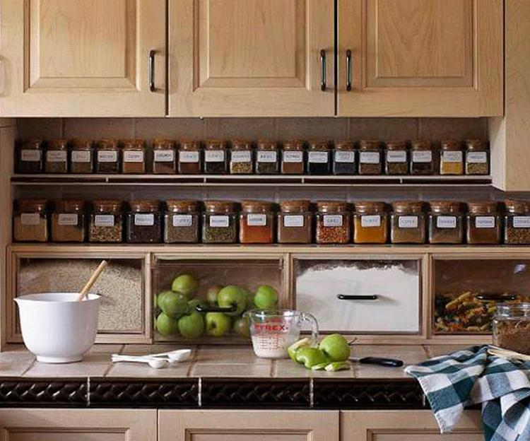 Cool Pantry Ideas For A Small Kitchen