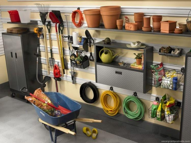 Modern Vintage Home Decor Ideas: 55+ NEAT WELL ORGANIZED GARAGE HOME DECOR IDEAS