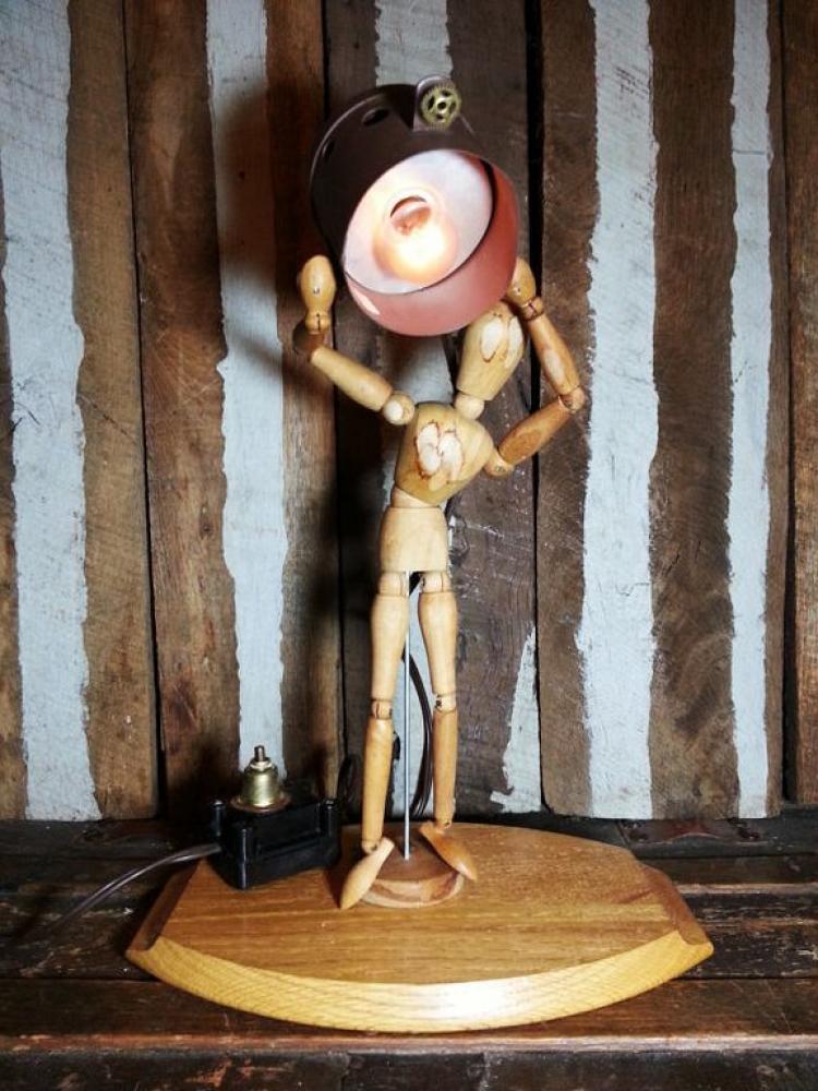 Vintage Wooden Lamp Designs