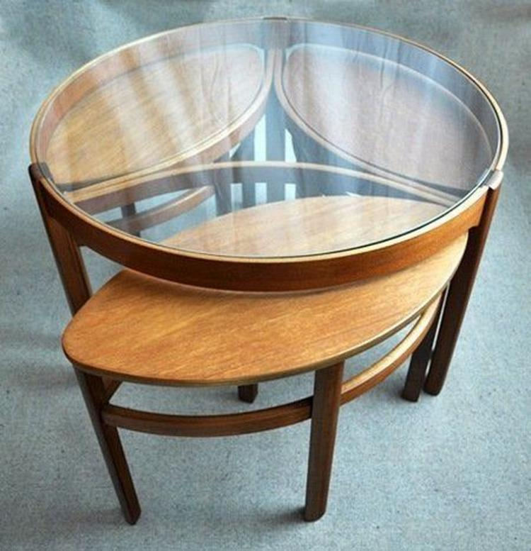 ROUND GLASS COFFEE TABLE DESIGNS